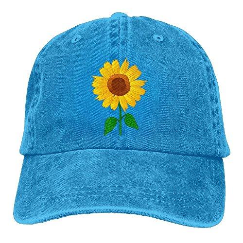 FUNINDIY Sunflower Clipart Classic Unisex Adjustable Baseball Cap Dad Hat