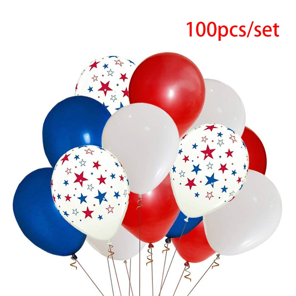 Amazon.com: 100 globos de 12 pulgadas de Islandses, Día de ...