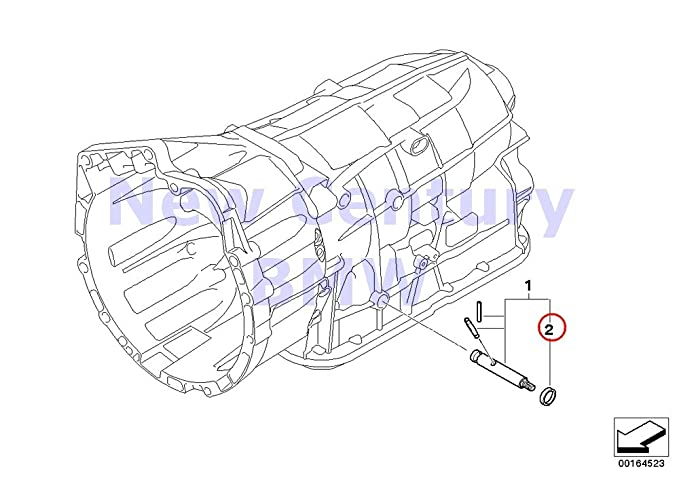 Amazon Com Bmw Genuine Ga6l45r Gearshift Shaft Seal 11x19x5 128i X3