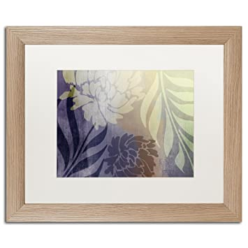 Amazon.com: Garden Waltz II by Color Bakery, White Matte, Birch ...
