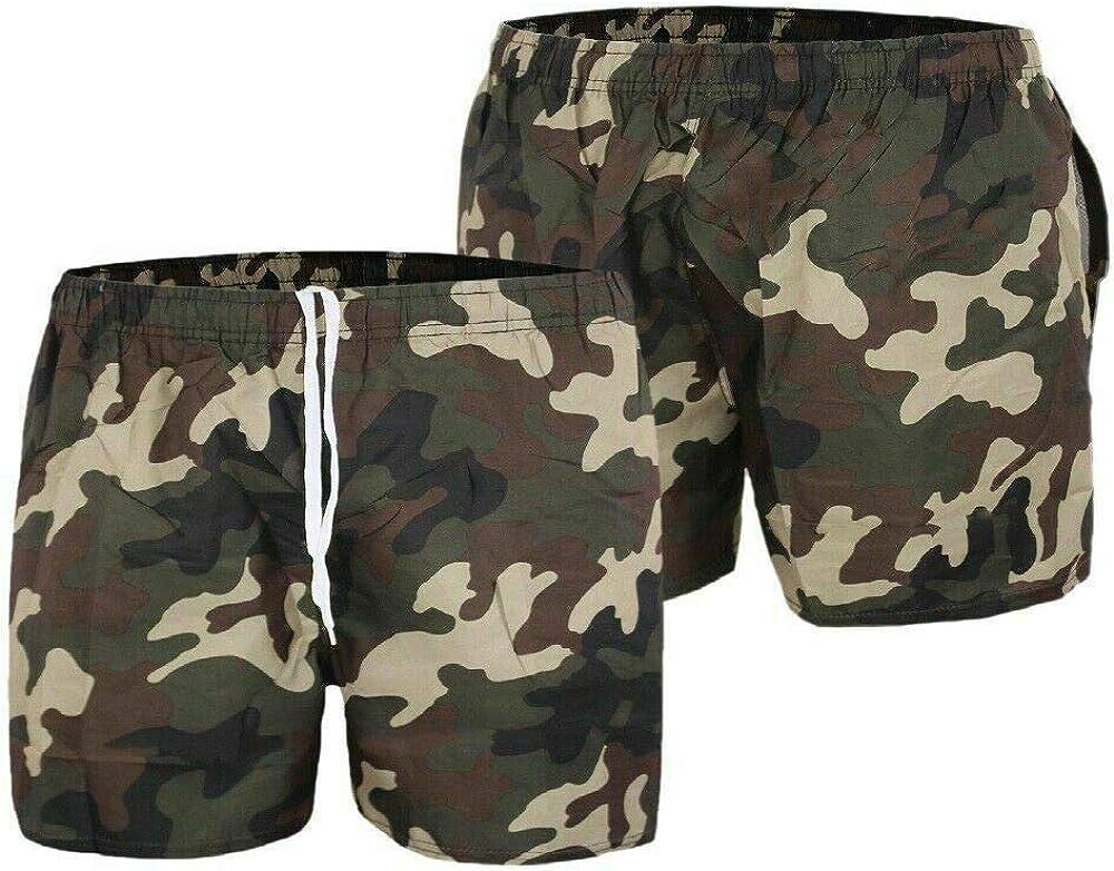 penzolare capo Acquista  Evoga Costume da Bagno Uomo Militare Mimetico Camouflage Pantaloncino Boxer  Shorts Bermuda Mare Mare e piscina Abbigliamento