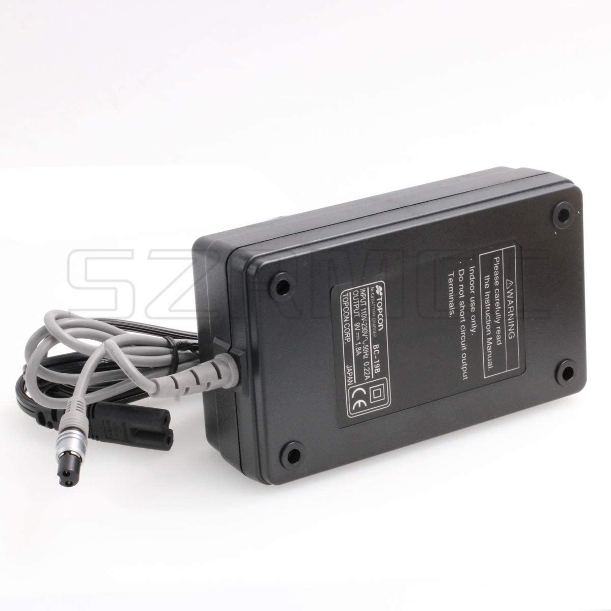 SZRMCC Topcon BC-19B Battery Charger for topcon BT-32Q Battery,Topcon GTS-200 GTS-210 GPT-1003 Total Station
