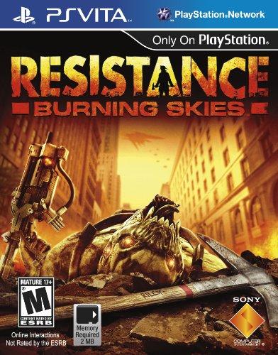 Resistance: Burning Skies - PlayStation Vita (Best Ps Vita Multiplayer Games)