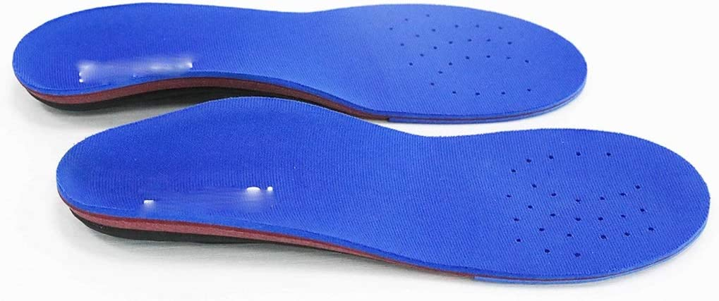 SKROWHN Plantillas de Calzado de Soporte de Arco ortopédico, Plantilla ortopédica para pies Planos Suaves/moderados, talón, Fascitis, Hombres y Mujeres (Size : 305mm)