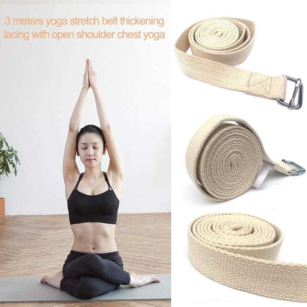 Wetour 3M - Cinturón de Entrenamiento para Yoga (Ajustable ...