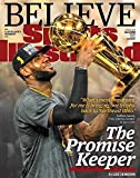 LEBRON JAMES, CLEVELAND CAVALIERS 2016 CHAMPIONS -SI Sports Illustrated Magazine