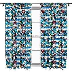 """Thomas & Friends Patch Curtains 54"""" Drop"""