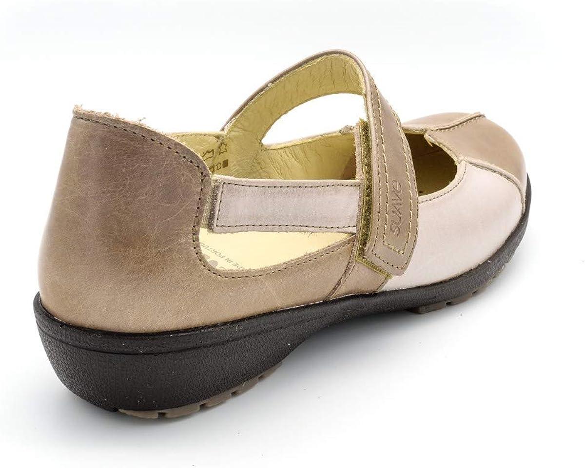 Zapato Merceditas para Plantillas Muy Comodo Suave M 3429 Azul