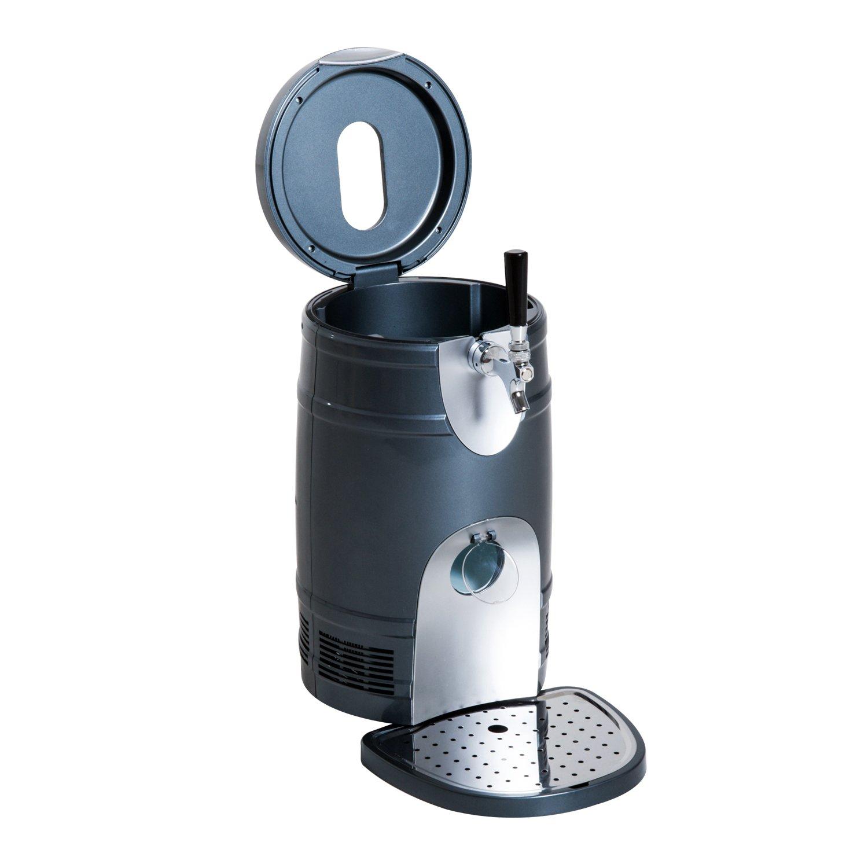 HOMCOM 5 Liter Mini Kegerator Beer Cooler Dispenser Portable -Black by HOMCOM (Image #6)