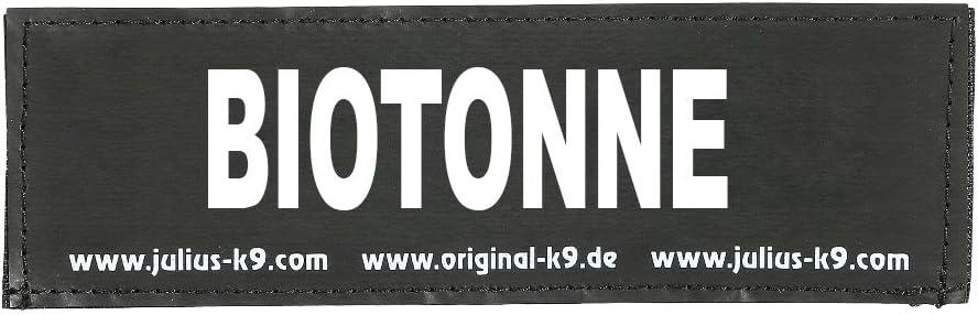 Julius K9 8151514 2 Klettsticker L Biotonne
