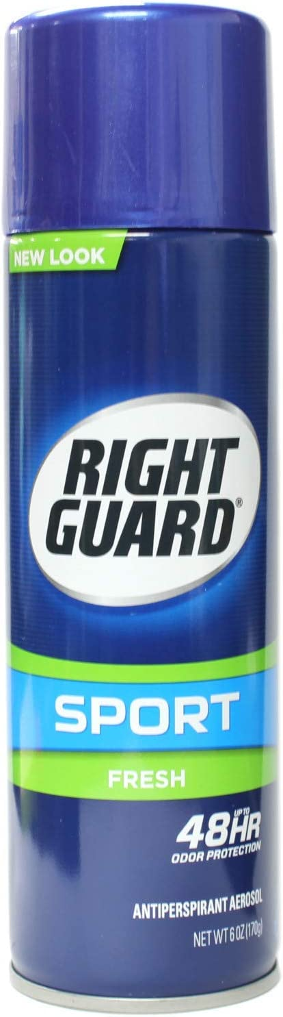 Right Guard Antiperspirant Spray, Sport Fresh 6 oz (Pack Of 4)