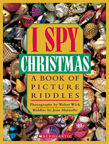 I Spy Christmas:  A Book of Picture Riddles -
