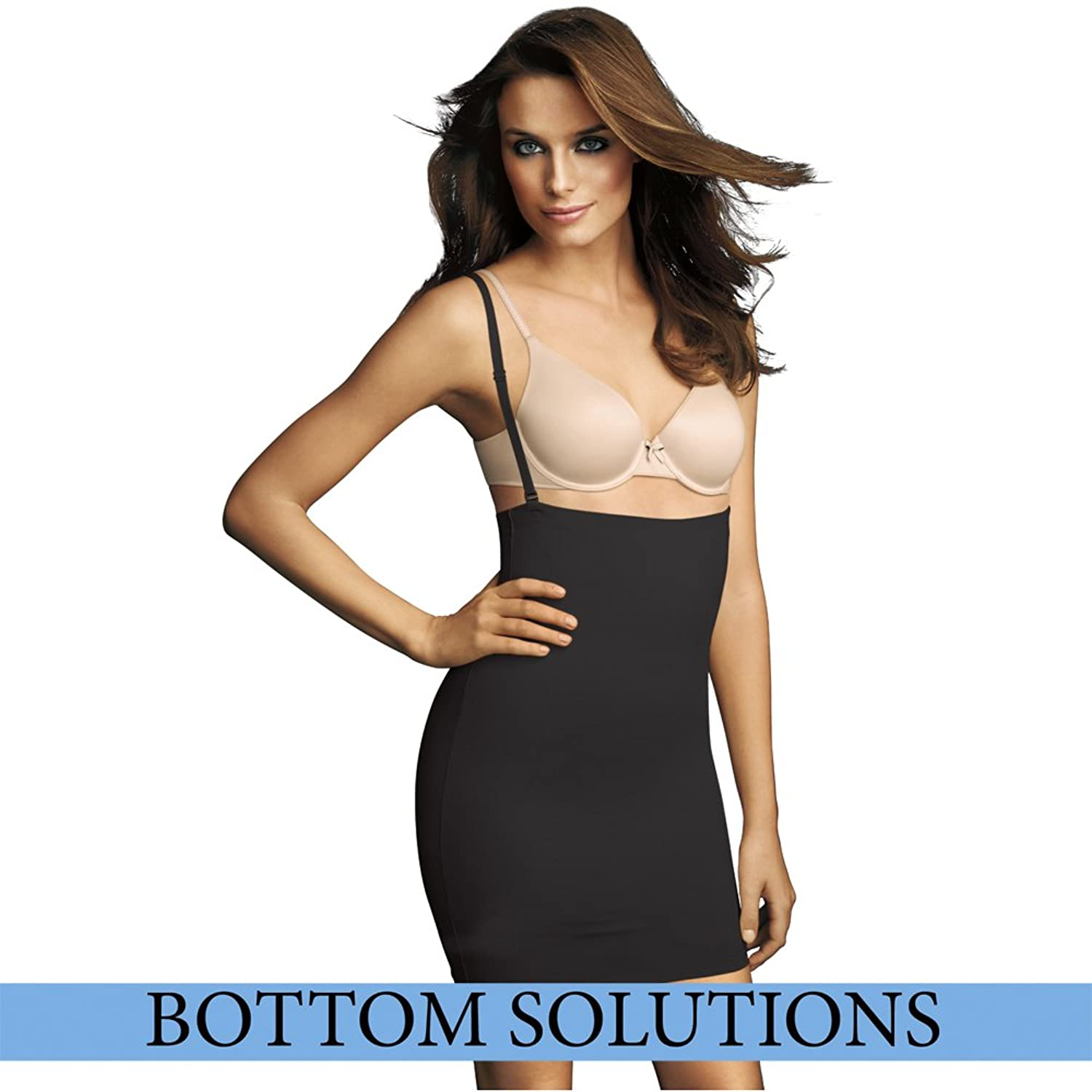 Outlet Choice Lowest Price Womens Comfort Devotion High Waisted Shaping Half Slip Maidenform Sale Exclusive ybAu2