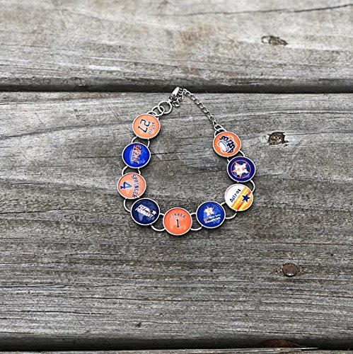 Houston Astros Bracelet customized houston astros gift houston astros memorabilia