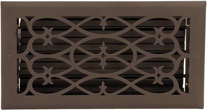 Amazon Com Floor Heat Register Louver Vent Steel 5 3 4 X 11 3 4 Duct Renovator S Supply Home Kitchen