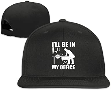 Mens Funny Woodworking Carpentry Woodworke Casquette Snapback Hat Adjustable Solid Flat Bill Baseball Caps Mens Black