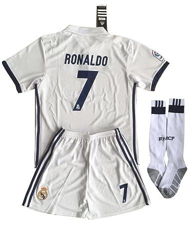 Cristiano Ronaldo, Real Madrid F.C.-Maglia Da Calcio#7 ...