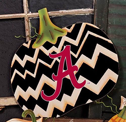 The Round Top Collection - Gameday Pumpkin Large - BAMA - Alabama University - (University Alabama Day Game)