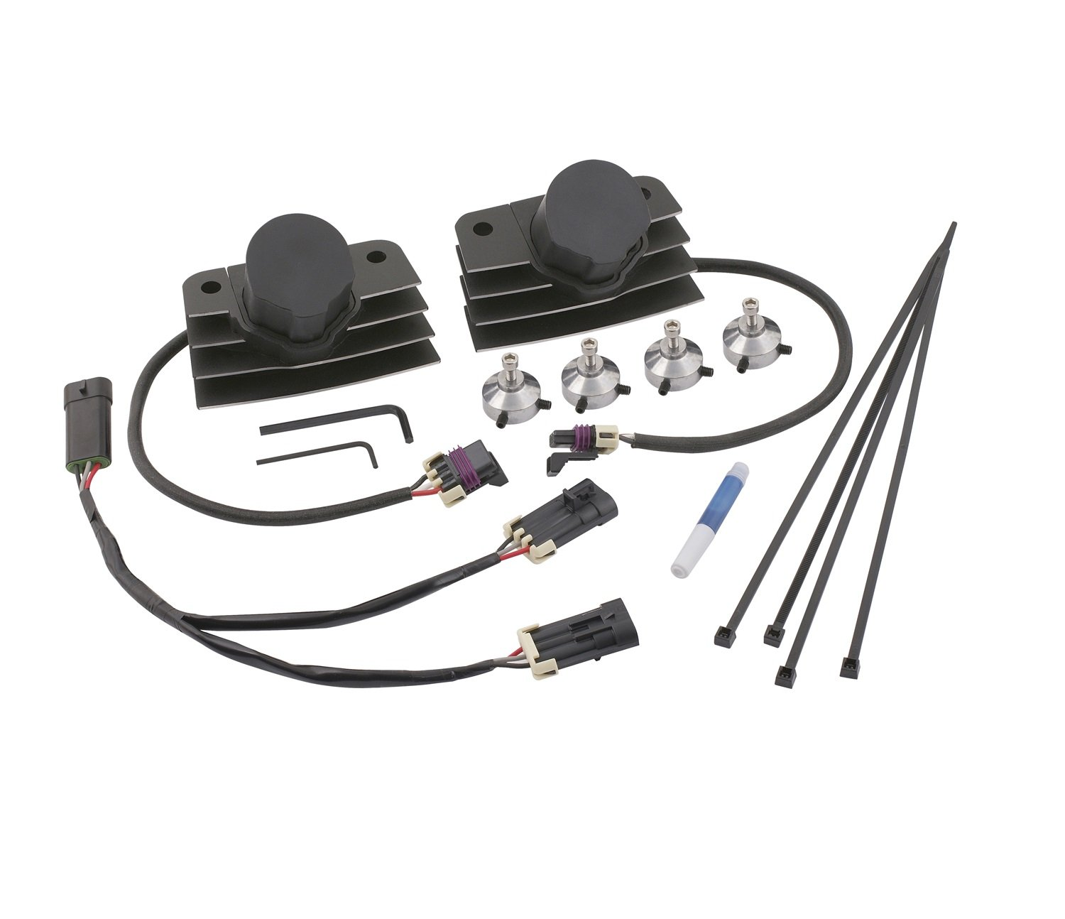 ACCEL 140411BC Black Short Stealth Ignition SuperCoil COP Kit