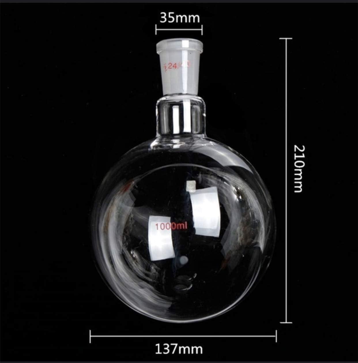 Sucastle 1000ml Glasdestillationsanlagen Chemie-Labor Glaswaren Kit Wasserfilter Chemie Wasser Distiller Reiniger Glas Kits