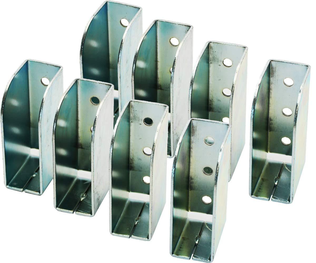 Systafex/® 8X Spriegel Spriegellasche Einstecktasche verzinkt Spriegeltasche Planenaufbau 30mm
