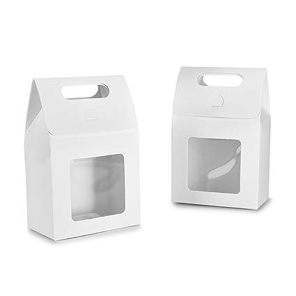 Syndecho Bolsas de papel kraft, 24 unidades Bolsas de pie Cajas para caramelos, alimentos, galletas, café, té, frutos secos