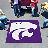 Fanmats Team Support Outdoor Sports Carpet Decorative Accessories Logo Printed Kansas State Tailgater Rug 60''72''