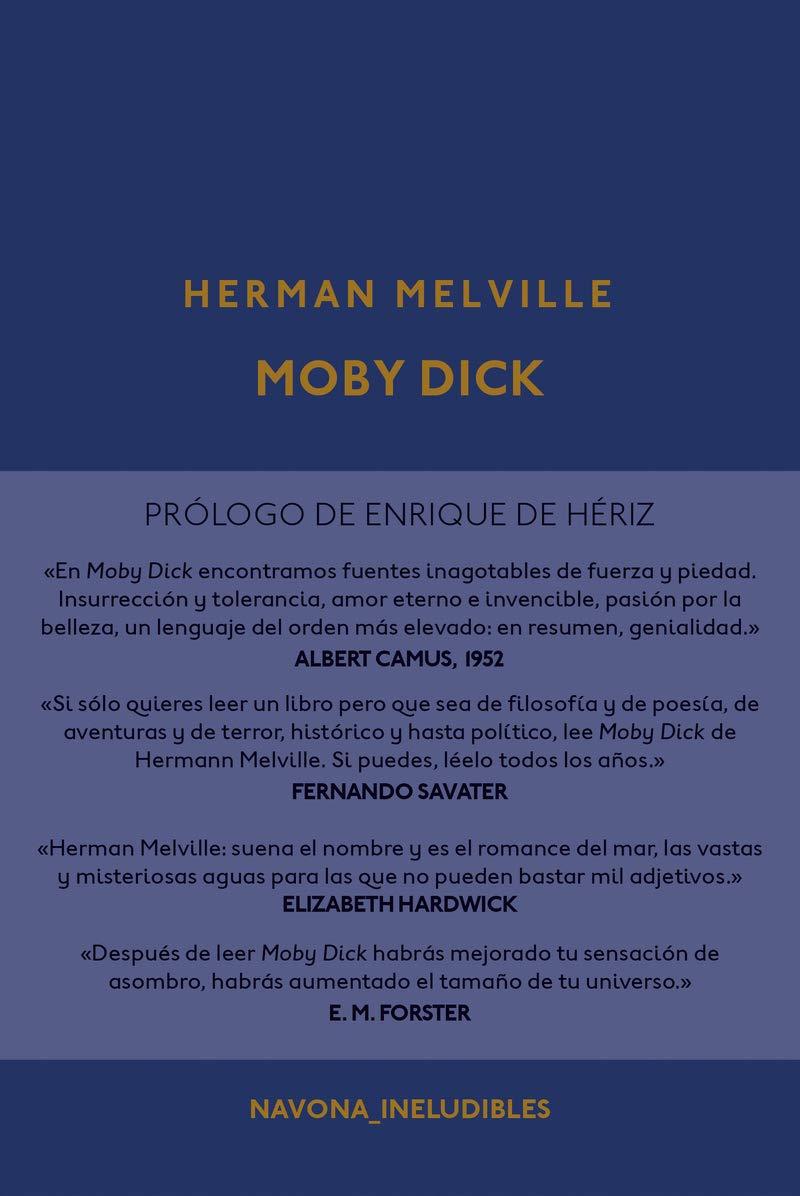 Moby Dick, un clásico de la literatura universal.