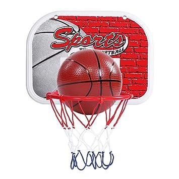 KDKDA Aro de puerta de baloncesto con 2 balones de baloncesto ...