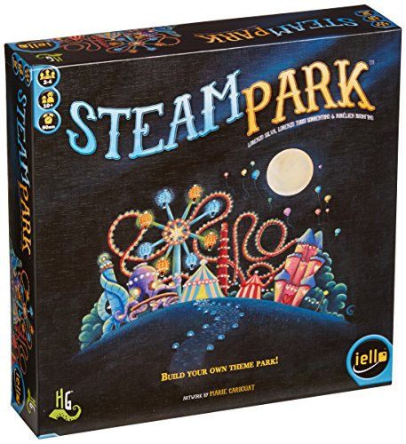 IELLO Steam Park Game