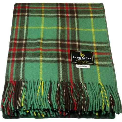 - Traditional Tartan Blanket Wool Mix Blanket Newfoundland Tartan