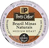 : Peet's Coffee Brazil Minas Naturais Blend Single Cup Coffee for Keurig K-Cup Brewers 40 count