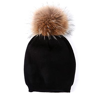 43b5c117a Amazon.com: Hat Women Elastic Caps Beanie Lightweight Female Neck ...
