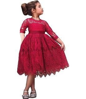 9edfdcfc1e5 Amazon.com  2Bunnies Girl Peony Lace Back A-Line Tiered Tutu Tulle ...