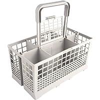 Sanfor - Cesta Universal de Cubiertos para Lavavajillas, 7 Compartimentos, color Gris, Talla única, 24 x 13,50 x 12,50…