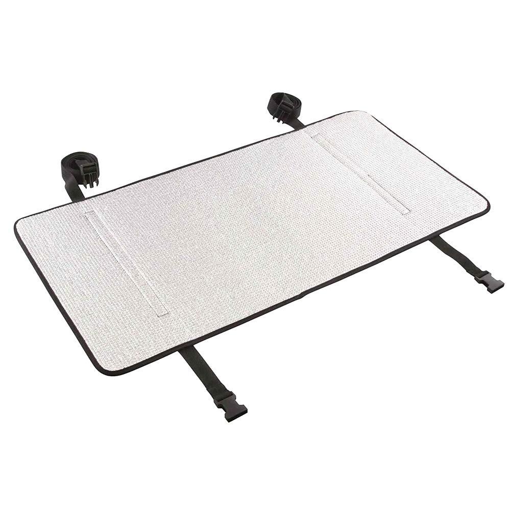 Majome Film en aluminium de protection thermique de couverture extérieure de climatiseur imperméable antipoussière