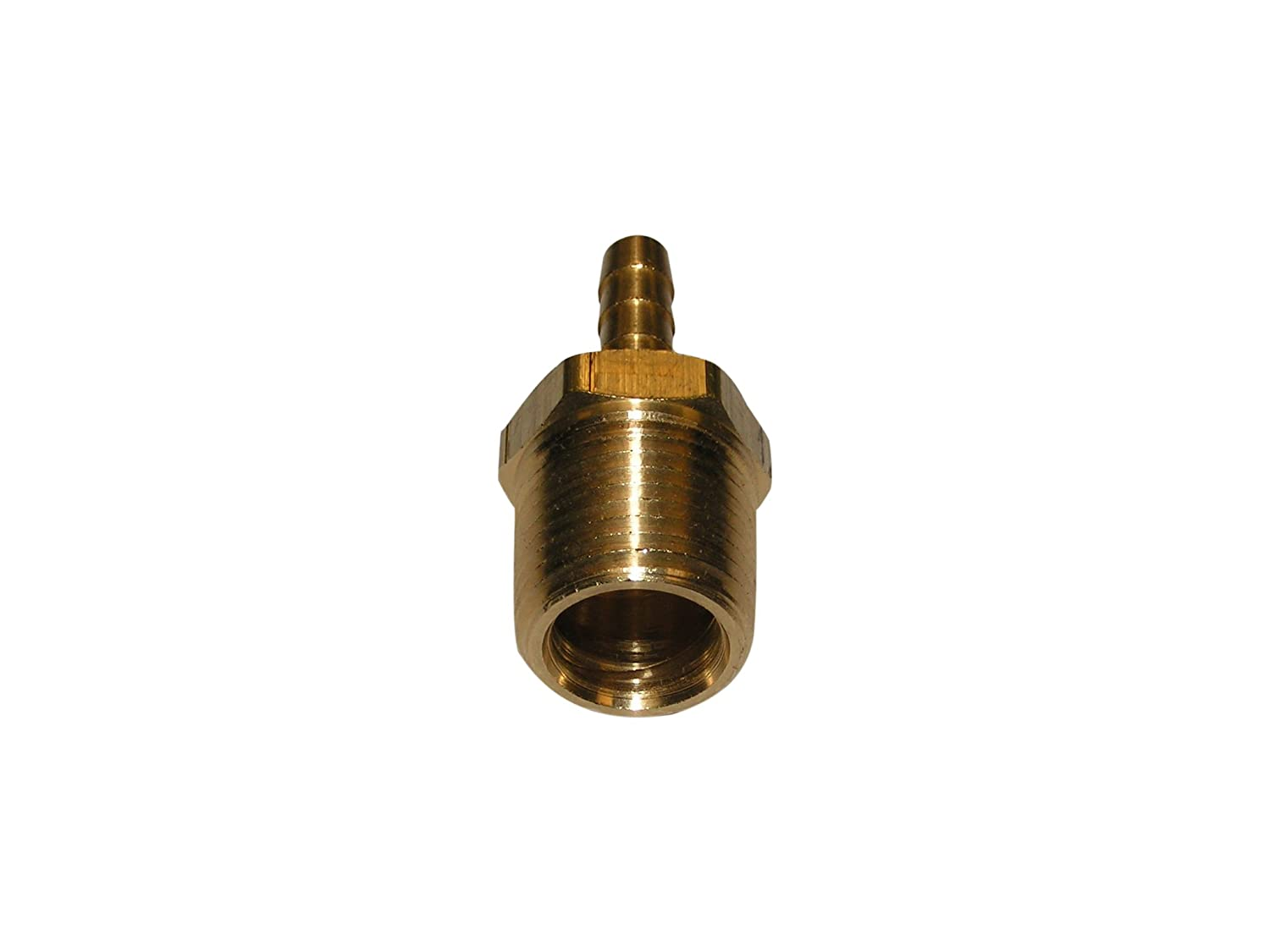 Connector 5//16 Barb x 1//4 Male Pipe Anderson Metals Brass Hose Fitting