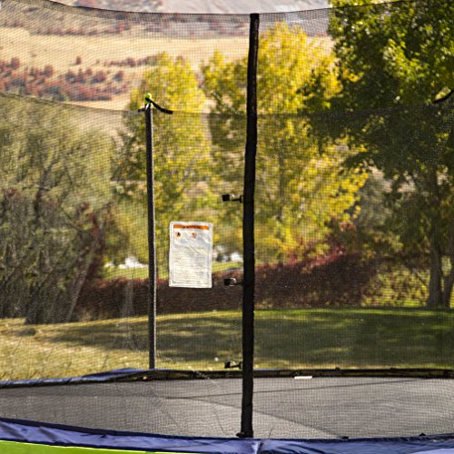 61N%2B7fY9 dL - ActivPlay 14' Round Trampoline & Enclosure, Blue/Green