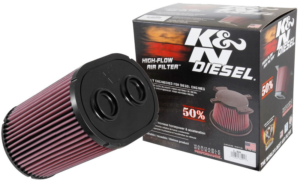 K&N E-0644 Replacement Air Filter, 1 Pack by K&N
