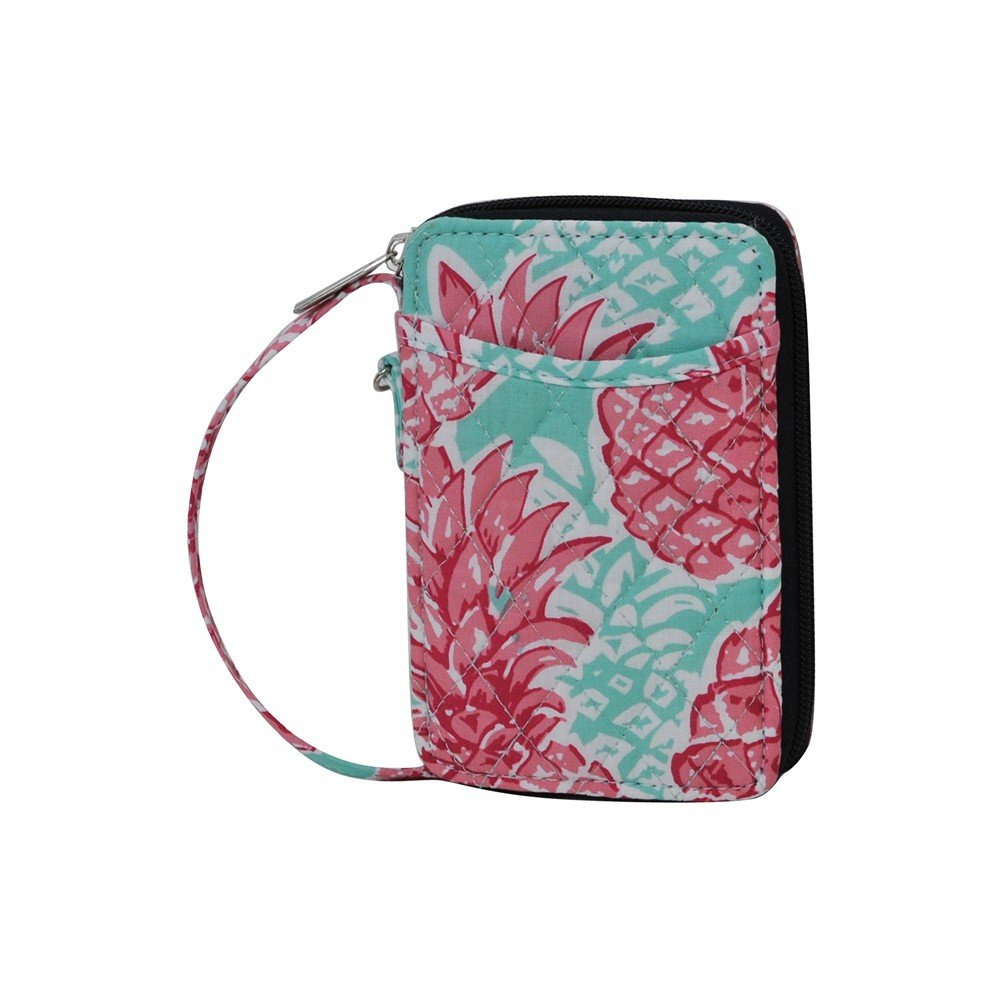 Southern Summer Pineapple NGIL Quilted Wristlet Wallet