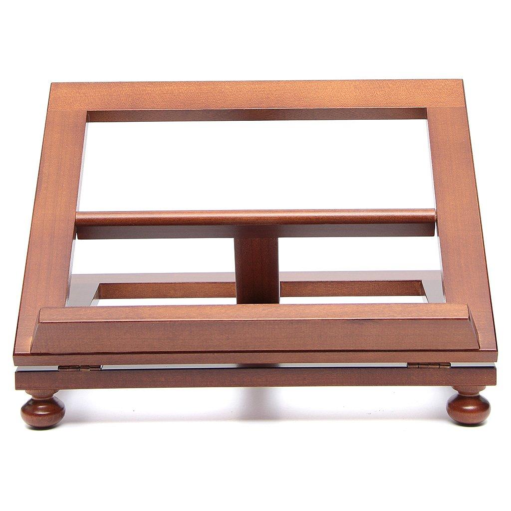 Holyart Leggio da tavolo legno noce 35x28 cm