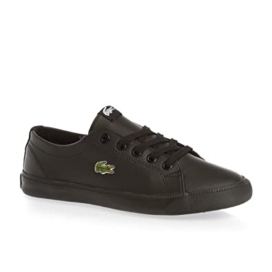 6adc9f0d9 Lacoste Boys Children Marcel BTS Trainers in Black - 12 child ...