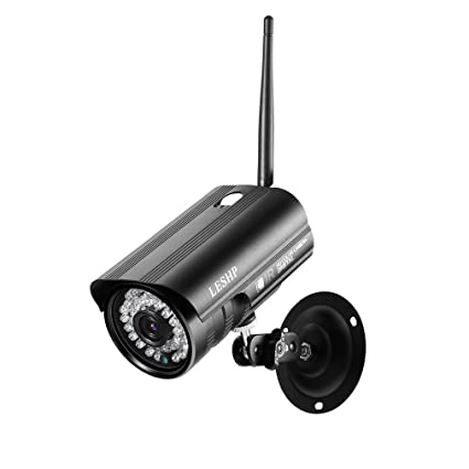 Cámara de videovigilancia IP colores exterior/interior WIFI inalámbrico 2.0 megapíxeles 1080p 36 Pz sensores