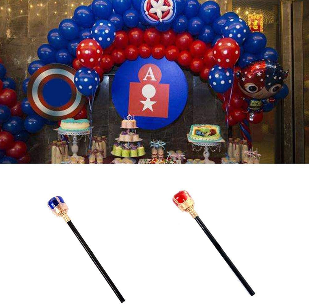 learnarmy PITCHBLA King Crown King Scepter Accessories for Children Royal King Crowns and Princess Tiara Rational workable
