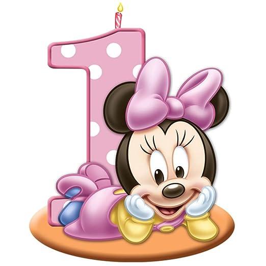 sdore bebé fiesta de cumpleaños de Minnie Mouse comestible 1 ...
