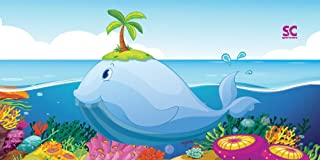 "product image for Sport N Care Beach Towel (Kiddie Whale) Kids Towel 32"" x 60"""