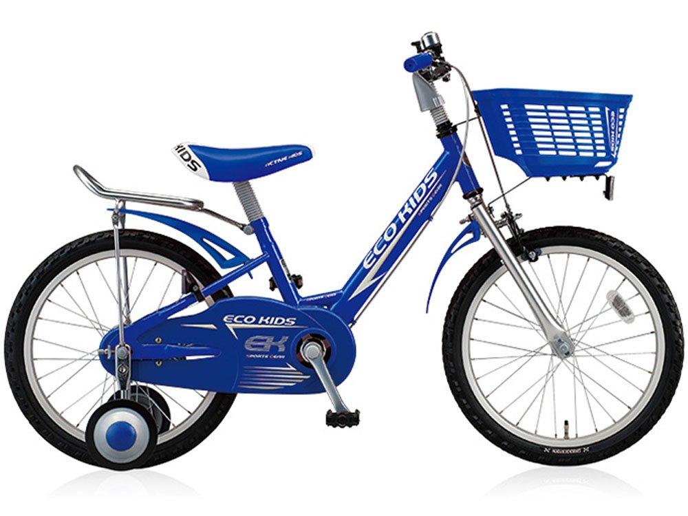 ブリヂストン(BRIDGESTONE) エコキッズスポーツ18インチ EK18段 6 キッズバイク ブルー 1037 B01MZ1NJT8