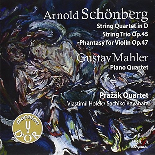 Schoenberg: String Quartet No.0, String Trio, (Phantasy Trio)