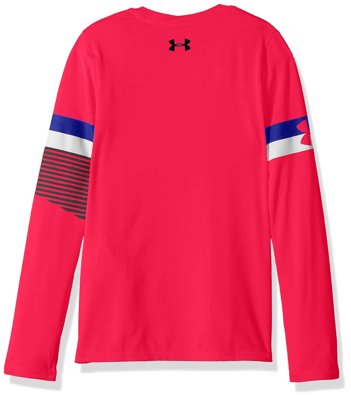 Under Armour Girls HeatGear Long Sleeve Shirts Under Armour Apparel 1317507