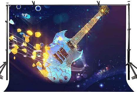 EdCott Telón de Fondo para Guitarra Club de música Fotografía ...